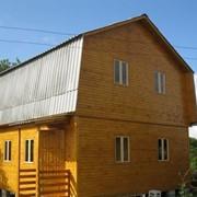 Дачный дом из дерева 72 кв.м. фото