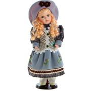 Кукла коллекционная Валентина в светлом платье и шляпке 40 см 848166 фото