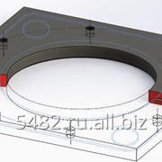 Седло резиновое для пробок ∅ 200, 270, 425, 500 фото