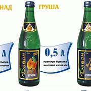 Лимонад в стеклянных бутылках в ассортименте фото