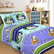 Комплект постельного белья 1,5 СПАЛЬНЫЙ ПЕРКАЛЬ 70 Х 70 Далматинцы фото