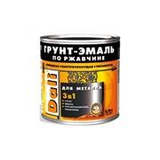 Грунт - Эмаль Dali по ржавчине 3 в 1 черная 0,75л фото