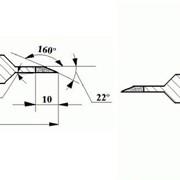 Круги алмазные специальные для нанесения крепежной канавки по Рундисту формы 14В1 фото