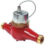 Счётчик-расходомер горячей воды с импульсным выходом 10 л./имп., МТHI-25, Ду=25 мм, Qn=3,5 куб.м/час фото