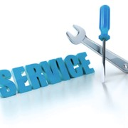 Ремонт и сервисное обслуживание установленных конструкций фото