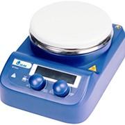 Магнитная мешалка US-1500D с темп. сенсором на штативе фото