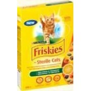 Сухой корм Friskies Sterilised для кастрированных котов и кошек, с кроликом и овощами 400г фото