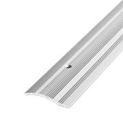 ЛУКА Порог разноуровневый ПР 02-900-01 серебро (0,9м) 39,4мм перепад 2,2-10мм фото