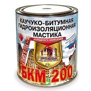 Мастика БКМ-200 битумно-каучуковая гидроиз. кровельная 2л Рогнеда фото