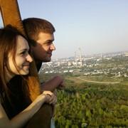 Полет на воздушном шаре Молдова фото
