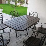 Мебель металлическая и интерьер фото