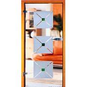 Дверь стеклянная Серия Песок фото