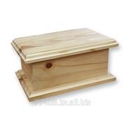 Заготовки для декупажа Шкатулка деревянная Прямоугольная фото