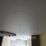 Потолок натяжной Белый матовый и сатин MSD фото