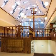 Декоративные конструкции из дерева фото