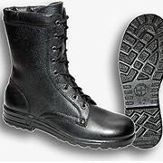 Ботинки с высокими берцами типа «ОМОН» фотография