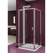 Душевая дверь в нишу, стекло прозрачное, профиль хром, 80x190 см Aquaform Salgado фото