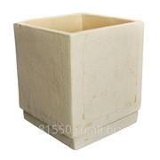 Горшок для цветов керамический Куб фото