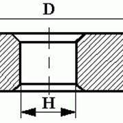 Круги из кубического нитрида бора (КНБ) плоские прямого профиля на органической связке формы 1А1 фото