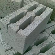 Керамзитобетонный блок шлакоблок фото