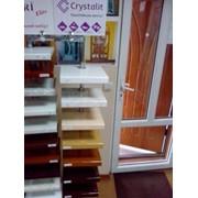 Підвіконня ПВХ(Crystalit) фото
