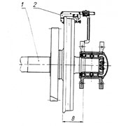 Комплект скоб для контроля монтажа букс И739 и поводков И740