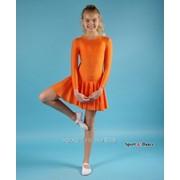 Платье спортивное для бальных танцев Р 2.4 Шайн фото