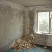 Демонтаж стен и перегородок (бетоноблоки,шлакоблоки,кирпич) фото