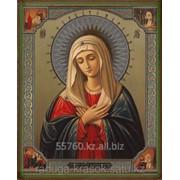 Картина стразами Икона Божией Матери - Умиление 40х50 см фото