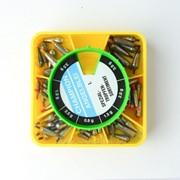 Набор скользящих грузил с кембриком Конус 5400016 I фото