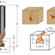 Фреза концевая (Т-образный паз) TCT S=6 D=9,5x11 фото