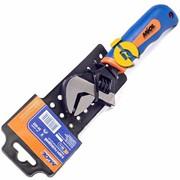 Ключ разводной 150мм (0-20мм) обрезиненная рукоятка Miol 54-040 фото