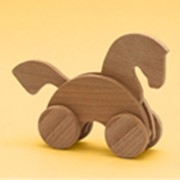 Деревянные игрушки каталки фото