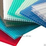Сотовый поликарбонат Sellex синий 6 мм фото