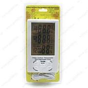 Термометр электронный ТА298 ( 2 температуры+влажность) фото