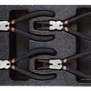 Набор съемников стопорных колец в ложементе, 4 предмета Т28953