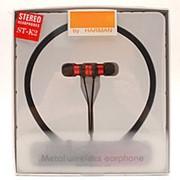 Беспроводные металлические наушники Wireless ST-K2 Red фото
