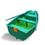 Лодка гребная стеклопластиковая Полидор-240 фото