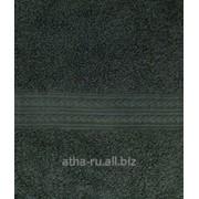 Простынь махровая, без бордюра (Оливковый) фото
