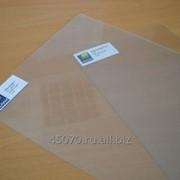ПВХ жесткий прозрачный , толщина 0,8 мм, 1мм, размер листа 1500х3000 мм