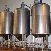 Емкость для хранения сыпучих материалов для химической промышленности V= 2 м3, Р- атмосферное фото