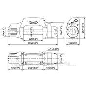Электрическая лебедка для эвакуатора Come up DS-9.5i 24V