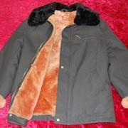 Куртка мужская на меховой подкладке фото