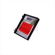 Ресницы Flario Disco красные - D – MIX (8-13) фото