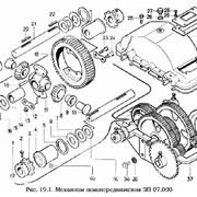 Механизм самопередвижения ЗП 07.000, запасные части и агрегаты к зернометателю самопередвижному ЗМ-60