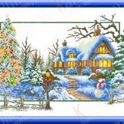 Набор для вышивания Зимняя соната КТК - 3082 фото
