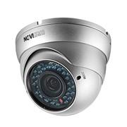 Видеокамера цветная погодозащищённая купольная антивандальная высокого разрешения фото