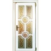 Входные двери с художественной резьбой 20 фото