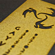 Металлические визитки фото
