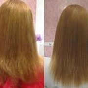 Выпрямление волос(перманентное) фото